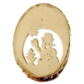 Dětské dekorace -  Přírodní obrazky Zima 10 ks