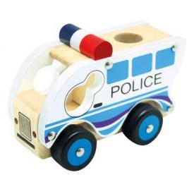 Bino - Dřevěné auto policie