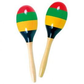 Bino - Drevěné barevné rumbakoule