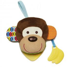 SKIP HOP Knížka maňásek opička