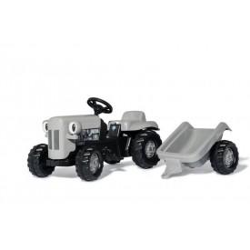 Rolly Toys Šlapací traktor Rolly Kid Litle Grey Fergie šedý