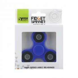 Fidget Spinner kovový 7 cm modrý