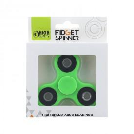 Fidget Spinner kovový 7 cm zelený
