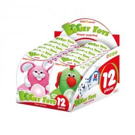 Modelovací zvířatka Eggry Toys 12 ks