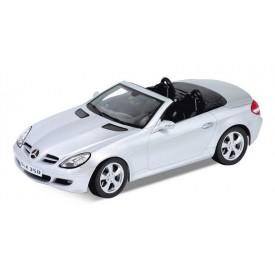 Welly - Mercedes SLK kabriolet 1:24 stříbrný