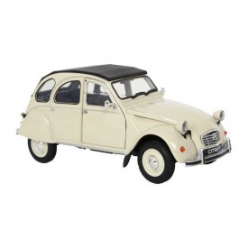 Welly - Citroen 2CV Skala 1:24 bílá