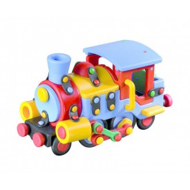 Mic-o-mic - Stavebnice - Velká lokomotiva
