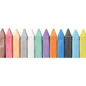 Velké barevné křídy 12 ks