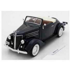 Welly - Ford 1936 DeLuxe Cabrio  model 1:24 černý