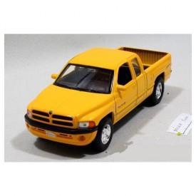 Welly - Dodge Ram Quad Cab 1500 sport model 1:24 žlutý