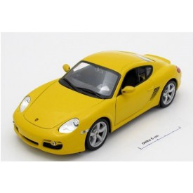Welly - Porsche Cayman S model 1:24 žluté