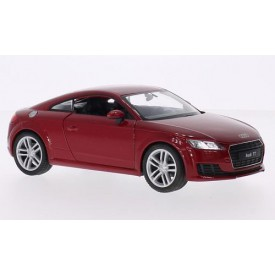 Welly - Audi TT 2014  model 1:24 červené