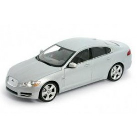 Welly - Jaguar XF model 1:24 stříbrný