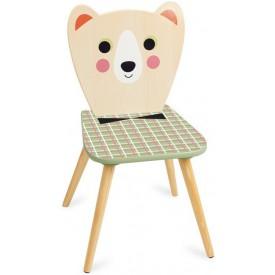 Vilac - Dřevěná židle paní medvědice