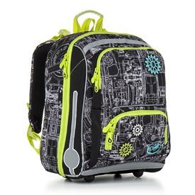 TOPGAL Školní batoh Green CHI 785