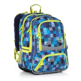 TOPGAL Školní batoh Blue CHI 870