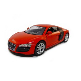 Welly - Audi R8 V10 model 1:34 červené