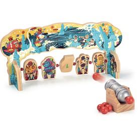 Vilac Dřevěná hra Útok robotů