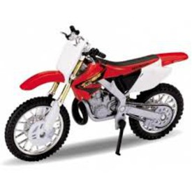 Welly - Motocykl Honda CR 250R model 1:18 červená