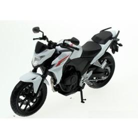 Welly - Motocykl Honda CB500F model 1:18 bílá