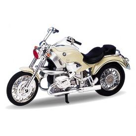 Welly - Motocykl BMW R1200C model 1:18 krémový