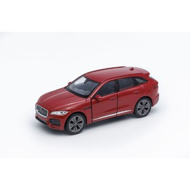 Welly - Jaguar F-Pace model 1:34 červený