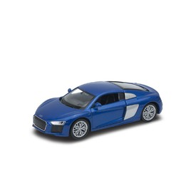 Welly - Audi R8 V10 model 1:34 modrý