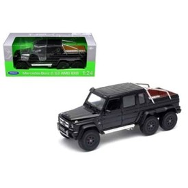 Welly - Mercedes-Benz G63 AMG 6x6 model 1:34 černý