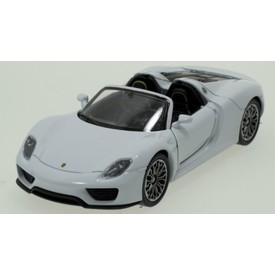 Welly - Porsche 918 Spyder model 1:34 bílé