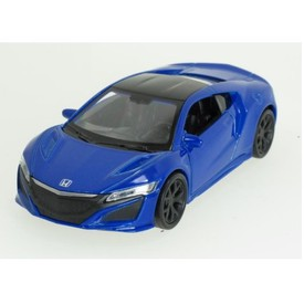Welly - Honda NSX (2015) model 1:34 modrá