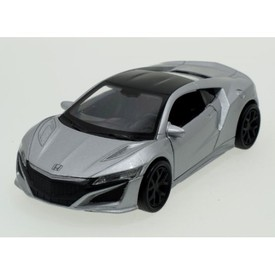 Welly - Honda NSX (2015) model 1:34 stříbrná