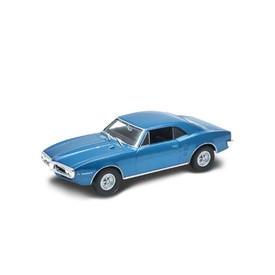 Welly - Pontiac Firebird (1967) model 1:34 modrý
