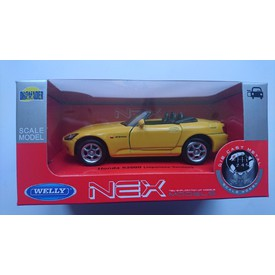 Welly - Honda S2000 (Japanese version) model 1:34 žlutá