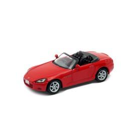 Welly - Honda S2000 (Japanese version) model 1:34 červená