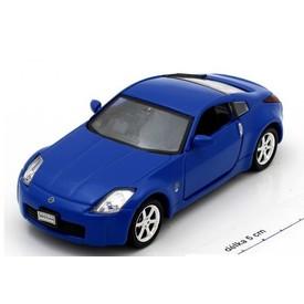 Welly - Nissan Fairlady Z model 1:34 modrý