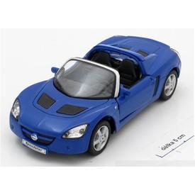 Welly - Opel Speedster model 1:34 modrý