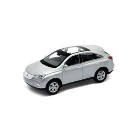 Welly - Lexus RX 450h model 1:34 stříbrný