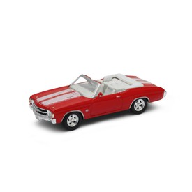Welly - Chevrolet Chevelle SS454 (1971) model 1:34 červené