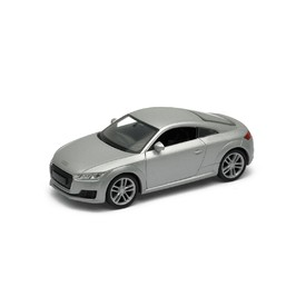 Welly - Audi TT Coupe (2014) model 1:34 stříbrné