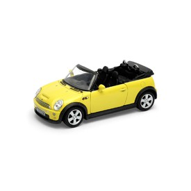 Welly - Mini Cooper S Cabrio model 1:34 žlutý