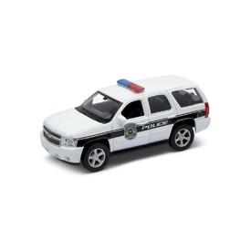 Welly - Chevrolet Tahoe (2008) model 1:34 bílý Police