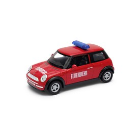 Welly - Mini Cooper model 1:34 hasiči
