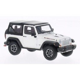 Welly - Jeep Wrangler Rubicon model 1:34 bílý