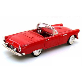 Welly - Ford Thunderbird (1955) model 1:34 červený
