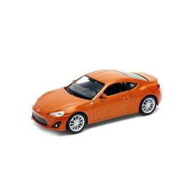 Welly - Toyota 86 model 1:34 oranžová