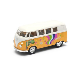 Welly - Volkswagen T1 Bus (1963) model 1:34 žlutý love