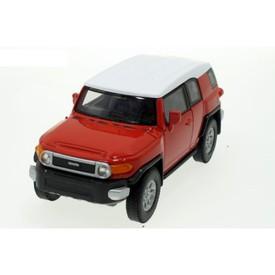 Welly - Toyota FJ Cruiser model 1:34 červená