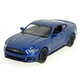 Welly - Ford Mustang GT (2015) model 1:34 modrý