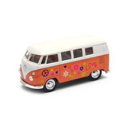 Welly - Volkswagen T1 Bus (1963) model 1:34 oranžový love