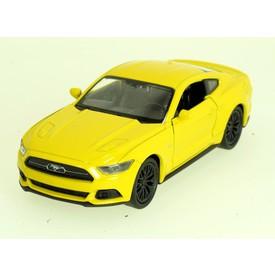 Welly - Ford Mustang GT (2015) model 1:34 žlutý